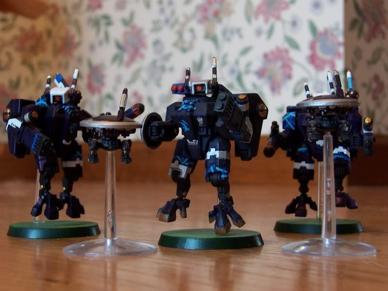 Some of my first models, back from April of 2004.